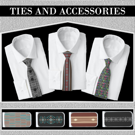 bthq Ties and Accessories