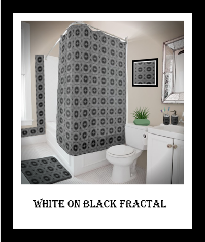 bthq design White On Black Fractal