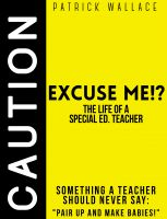 Bookcover: Excuse Me